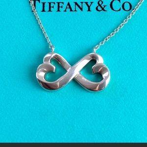 RARE Tiffany Double Heart Paloma Picasso LikeNew